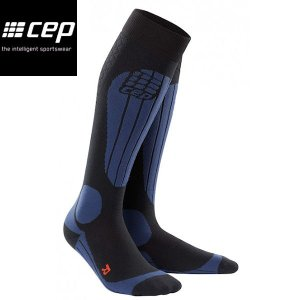 CEP シーイーピー progressive+ Ski Thermo Socks Deep Blue レディーススノースポーツ用サーモソックス 靴下 厚手タイプ スキー|54tide