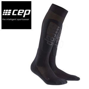 CEP シーイーピー Snowboard Ultralight Socks サイズII-IV 高機能 レディーススノーボードソックス 靴下 BlackAnthracite|54tide