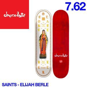 Chocolate チョコレート Saints デッキ 7.62インチ スケートボード スケボー 板 E.B|54tide