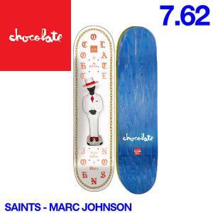 Chocolate チョコレート Saints デッキ 7.81インチ スケートボード スケボー 板 E.B|54tide