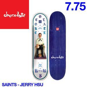 Chocolate チョコレート Saints デッキ 7.75インチ スケートボード スケボー 板 J.H|54tide