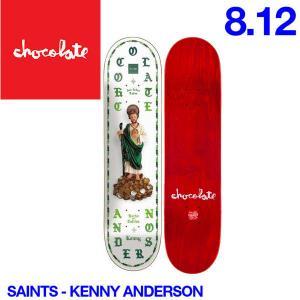 Chocolate チョコレート Saints デッキ 8.12インチ スケートボード スケボー 板 K.A|54tide