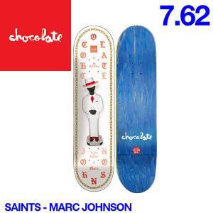 Chocolate チョコレート Saints デッキ 7.62インチ スケートボード スケボー 板 M.J|54tide