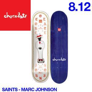 Chocolate チョコレート Saints デッキ 8.12インチ スケートボード スケボー 板 M.J|54tide