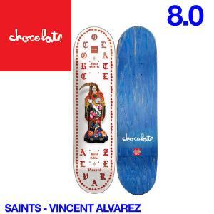 Chocolate チョコレート Saints デッキ 8インチ スケートボード スケボー 板 V.A|54tide