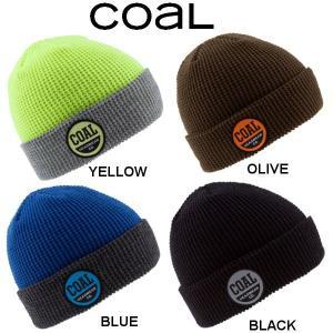 コール Coal THE COMPANY BEANIE メンズ レディース リブ ワッフル ビーニー 折り返し ニット帽|54tide