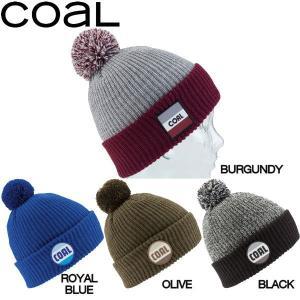 コール Coal The Stanwood メンズ レディースビーニー ロゴパッチ ポンポン付き 折り返し ニット帽|54tide