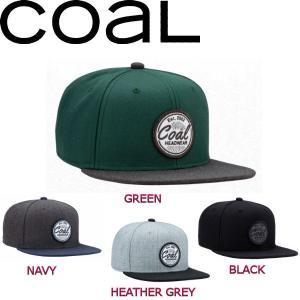 コール COAL メンズ レディース キャップ スナップバック 帽子 スノーボード 4カラー The Classic|54tide