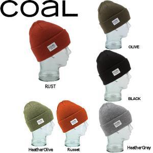 定番アイテム コール COAL The Standard Beanie メンズ・レディーススタンダードビーニー サイドパッチ 帽子 ニット帽|54tide