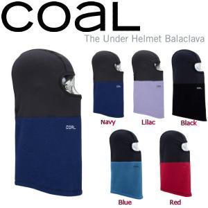 コール COAL メンズ レディース バラクラバ フェイスマスク カシミア風 スノーボード 5カラー The Under Helmet Balaclava|54tide