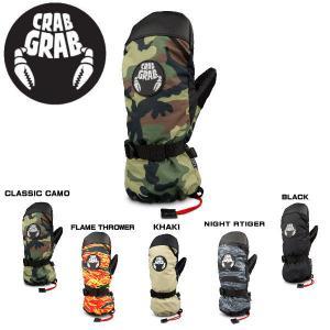 【CRABGRAB】クラブグラブ 2019冬 CINCH NITT  シンチミット グローブ スノーボード ミトン 手袋 XS-XL 5カラー|54tide