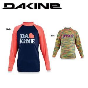 ダカイン DAKINE GIRLS CLASSIC ガールズ ロングスリーブ ラッシュガード /2カラー/長袖 UPF50+ 女の子用 長袖ラッシュ 54tide