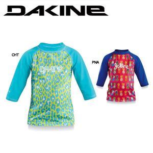 DAKINE ダカイン TODDLER GIRLS 3 4 SLEEVE ガールズ3 4スリーブ ラッシュガード 七分丈 UPF50+ 女の子用 7分丈 54tide