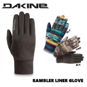 ダカイン DAKINE RAMBLER LINER GLOVE インナーグローブ スノーグローブ スキーグローブ スノーボード スキー 手袋  S-XL 3カラー|54tide