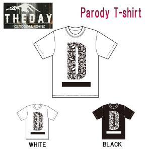 ザ デイ THE DAY メンズ レディース 半袖Tシャツ ティーシャツ TEE トップス アウトドア フィッシング S・M・L・XL・XXL・XXXL 2カラー Parody T-shirt|54tide