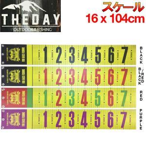 THE DAY ザ デイ スケール 魚釣り バス フィッシング アウトドア 16×104cm 54tide