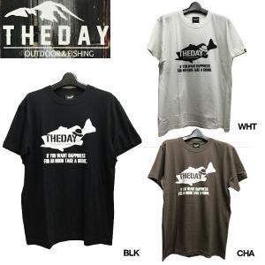 ザ デイ THE DAY BigBassTee メンズTシャツ アウトドアフィッシング 魚釣り バス ティーシャツ|54tide