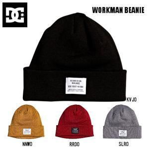 ディーシーシューズ DC Shoes WORKMAN BEANIE ビーニー ニット帽 帽子 スノーボード スケートボード ONE SIZE|54tide