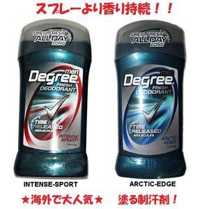 Degree-MEN FLESH DEODORANT スポーツ後に!塗る制汗剤 メンズデオドラントスティックタイプ 54tide