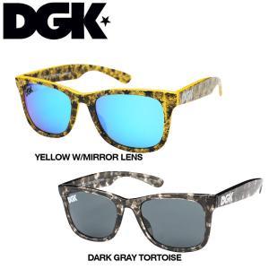 DGK ディージーケー2015春夏 CLASSIC SHADES メンズ・レディースサングラス ユニセックス 眼鏡/2カラー|54tide