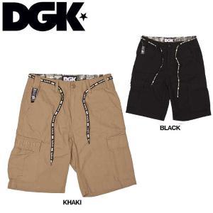 DGK ディージーケー AR-15 Cargo Short メンズカーゴショートパンツ 短パン 半ズボン ボトム|54tide