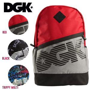 ディージーケー DGK DOWNTOWN ANGLE BACKPACK メンズバックパック リュック バッグ 鞄|54tide