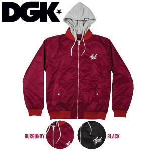 ディージーケー DGK DEFEND JACKET メンズジャケット フード付き アウター スケートボード スケボー|54tide
