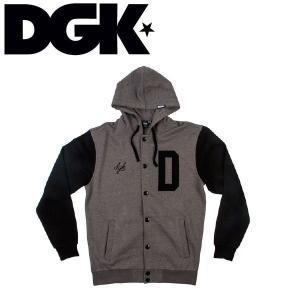 DGK ディージーケー UNIVERSITY VARSITY FLEECE メンズ長袖アウター ジャケット トップス|54tide