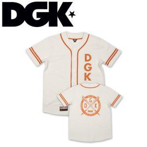 DGK ディージーケー SANDLOT CUSTOM BASEBALL メンズ 半袖トップス|54tide