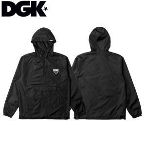 ディージーケー DGK メンズ ウィンドブレーカー アノラックジャケット アウター ジャケット スケートボード ストリート Shadow Hooded Windbreaker Jacket|54tide