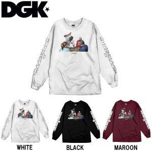 ディージーケー DGK メンズ 長袖Tシャツ TEE ロンT ロングスリーブ トップス Domino Long Sleeve T-Shirt|54tide