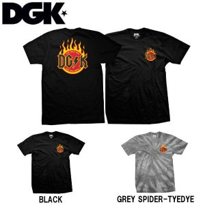 ディージーケー DGK メンズ 半袖Tシャツ ティーシャツ TEE トップス Flame T-Shirt|54tide