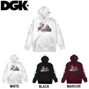 ディージーケー DGK メンズ プルオーバーパーカー 長袖トップス Domino Hoody|54tide