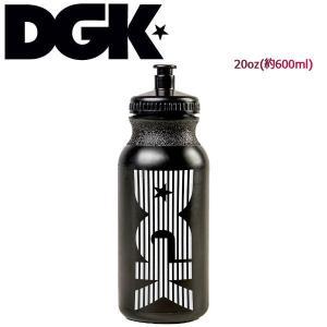 ディージーケー DGK ウォーターボトル 水筒 20oz 約600ml BLACK DGK Off Court Water Bottle|54tide
