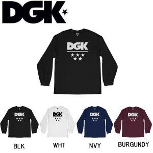 ディージーケー DGK メンズ 長袖Tシャツ ティーシャツ ロンT ロングスリーブ トップス TEE M・L 4カラー All Star Long Sleeve T-Shirt|54tide