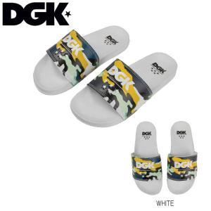ディージーケー  DGK 2019春 DGK Ruckus Slide Slippers サンダル ビーチサンダル メンズ 靴 スリッパ Mens sandals  Footwear アクセサリー White|54tide
