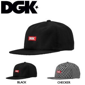 ディージーケー DGK メンズ キャップ ストラップバック 帽子 2カラー Illusion Strapback Hat|54tide