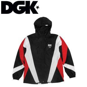 ディージーケー DGK メンズ ウインドブレーカー ジャケット アウター M・L BLACK Mirage Windbreaker Jacket|54tide