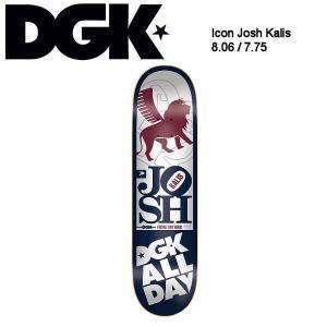 ディージーケー DGK スケボー デッキ スケートボード 板 Icon Josh Kalis Skateboard Deck 7.75,8.06|54tide
