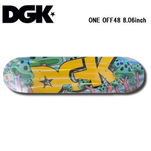 ディージーケー DGK ONE OFF48 デッキ 8.06inch スケートボード スケボー 板 Skateboard Deck|54tide