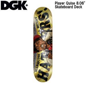 ディージーケー DGK 8.06インチ スケボー デッキ スケートボード 板 ONE OFF 40 Player Quise|54tide