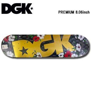 ディージーケー DGK PREMIUM デッキ 8.06inch スケートボード スケボー 板 Skateboard Deck|54tide