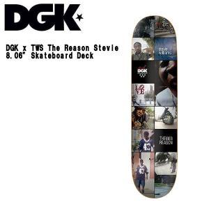 ディージーケー DGK x TWS The Reason Stevie 8.06