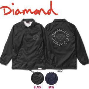 DIAMOND SUPPLY CO ダイアモンド CIRCLE LOGO COACHES JACKET メンズ コーチジャケット ライトアウター|54tide