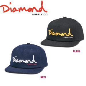 DIAMOND SUPPLY CO ダイアモンド OG SCRIPT UNCONSTRUCTED SNAPBACK HO17 スナップバック 帽子 キャップ|54tide