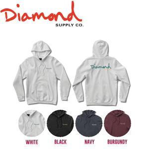 DIAMOND SUPPLY CO ダイアモンド 2017秋冬 OG SCRIPT HOODIE HO17 メンズ プルオーバーパーカー 長袖 ロングスリーブ|54tide