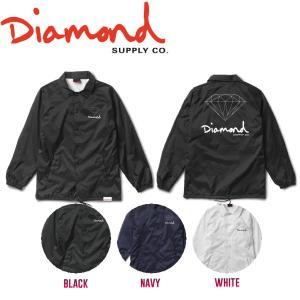 DIAMOND SUPPLY CO ダイアモンド OG SIGN COACHES JACKET HO17 メンズ コーチジャケット ライトジャケット ロングスリーブ|54tide