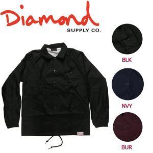 DIAMOND SUPPLY CO ダイアモンド DIAMOND SCRIPT COACHES JACKET メンズ コーチジャケット ライトジャケット ロングスリーブ|54tide