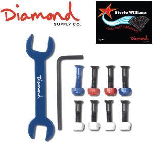 Diamond supply co ダイヤモンドサプライ  スティーヴィーウイリアムスモデル ビス ナット 工具 六角レンチ スケートボード スケボー|54tide