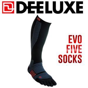 ディーラックス DEELUXE ThermoSocks Evo Five サーモソックスエヴォファイブ S〜L 靴下 5本指|54tide